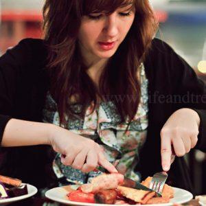 غلبه بر استرس با خوب غذا خوردن