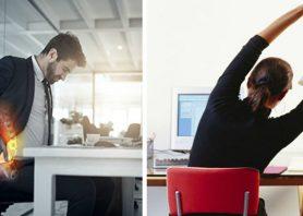 ۶ راهکار برای حفظ سلامتی وقتی سر کار نشسته اید