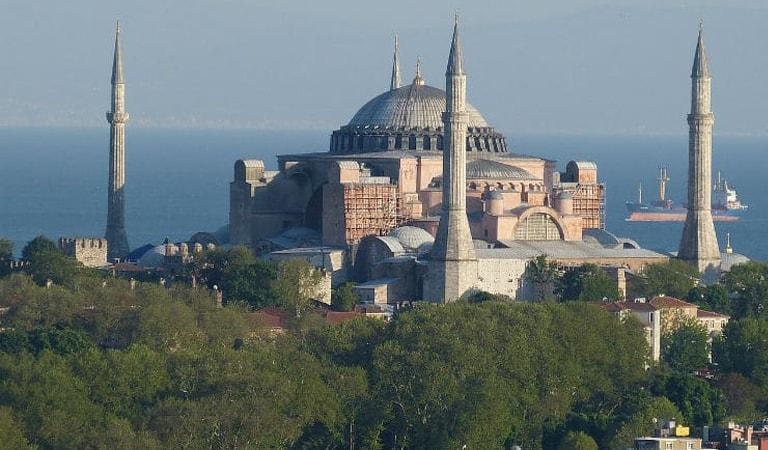 جاهای دیدنی ترکیه - ایا صوفیه