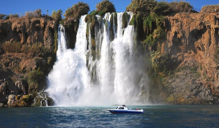 جاهای دیدنی ترکیه - آبشارهای دودن