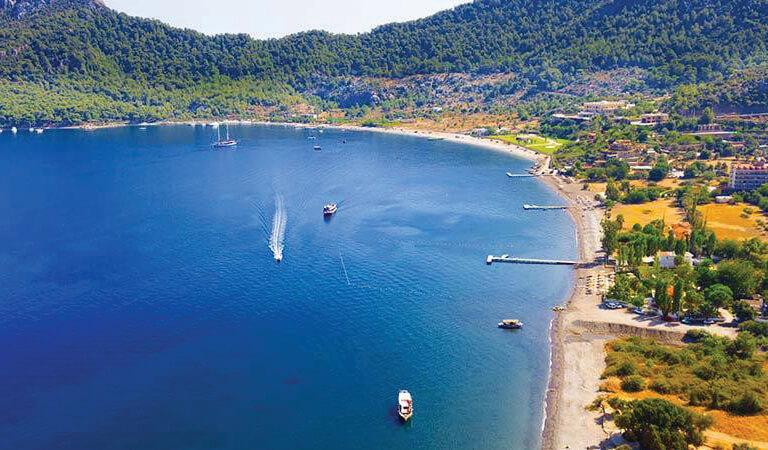 سواحل ترکیه - ساحل آموس- مارماریس (مگلا)