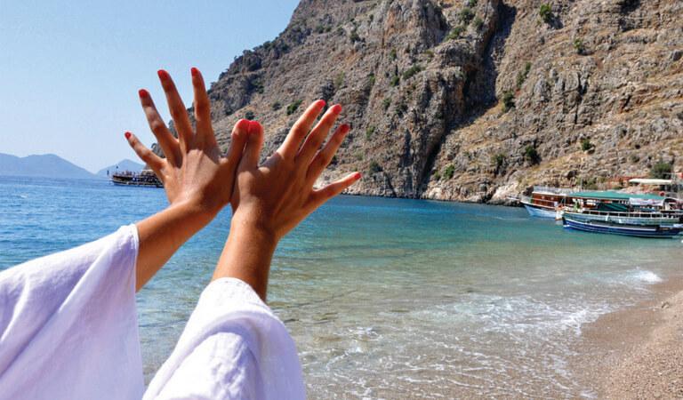 سواحل ترکیه - دره پروانه – فتحیه (ماگلا)