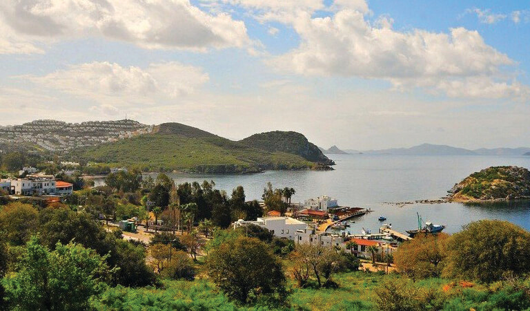 سواحل ترکیه - خلیج گوموسلوک- بدروم (مگلا)