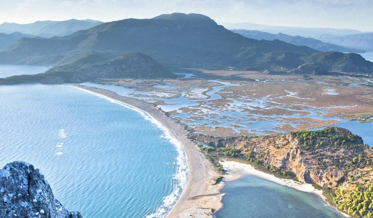 سواحل ترکیه - ساحل ایزتوزو- دالیان (مگلا)