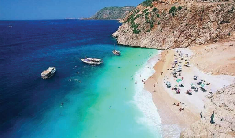 سواحل ترکیه - ساحل کاپوتاس- کاس (آنتالیا)