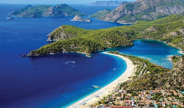 سواحل ترکیه - اولودنیز- فتحیه (مگلا)