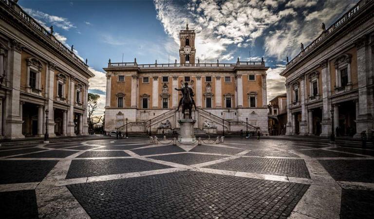جاهای دیدنی رم - از تپه و موزههای کاپیتولین (Capitoline) بازدید کنید