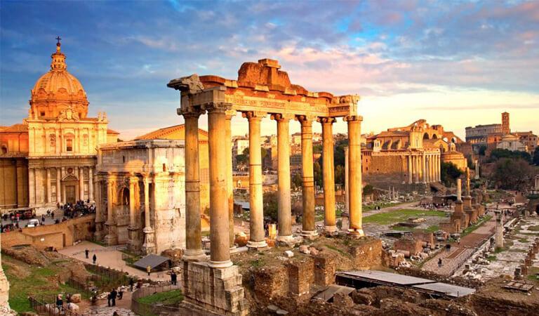 جاهای دیدنی رم - به رومن فروم (Roman Forum) و تپه پالاتین (Palatine Hill) بروید