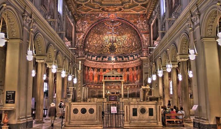 جاهای دیدنی رم - از کلیسای San Clemente دیدن کنید
