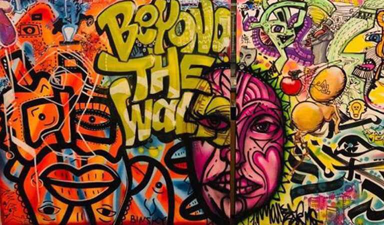 جاهای دیدنی رم - هنرهای خیابانی را کشف کنید