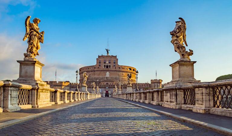 جاهای دیدنی رم - از قلعه سنت آنجلو سیاحت کنید