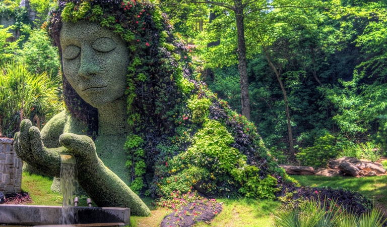 جاهای دیدنی تفلیس - باغ گیاه شناسی تفلیس
