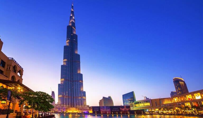 جاهای دیدنی دبی - برج خلیفه، بلندترین برج دنیا