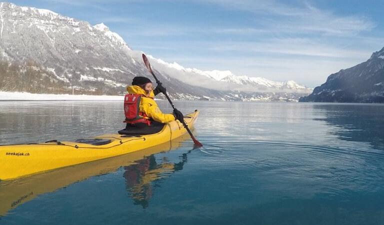 جاهای دیدنی سوئیس - قایقرانی در آبشارهای راین – برای ترشح آدرنالین