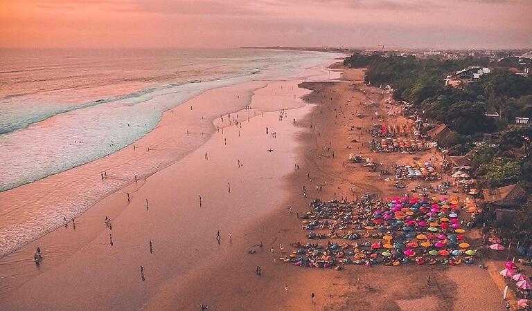 جزیره بالی - غروب آفتاب حیرتآور را در بالی