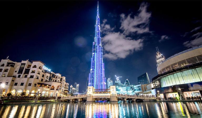 جاهای دیدنی دبی - علت جذابیت برج خلیفه