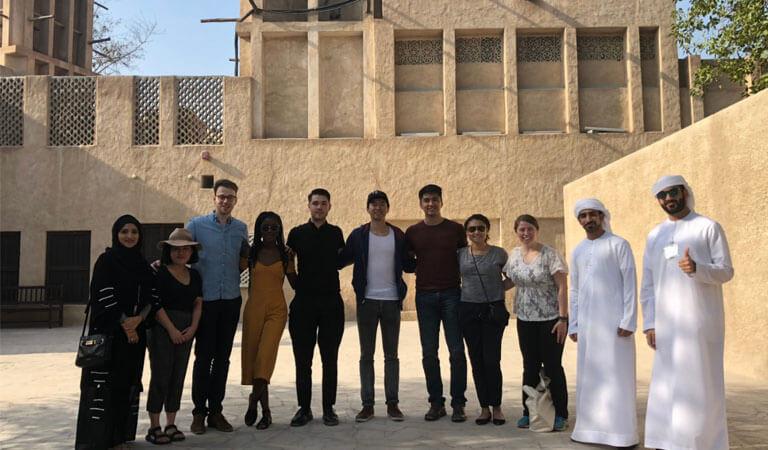 جاهای دیدنی دبی - علت جذابیت محله تاریخی الفاهیدی