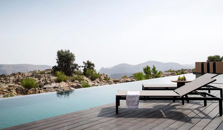 بهترین هتل های جهان - تفرجگاه آنانتارا الجبل آل اخدار در عمان