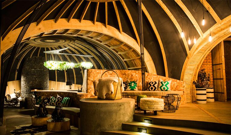 بهترین هتل های جهان - هتل Bisate Lodge