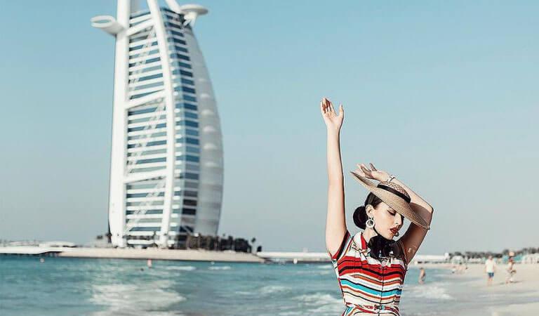 جاهای دیدنی دبی - هتل تجملی برجالعرب