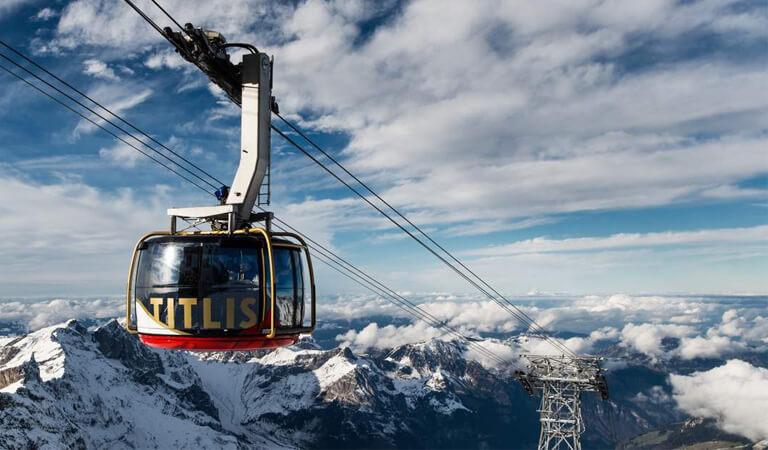 جاهای دیدنی سوئیس - ماشین کابلی سواری – برای عاشقان ماجراجویی