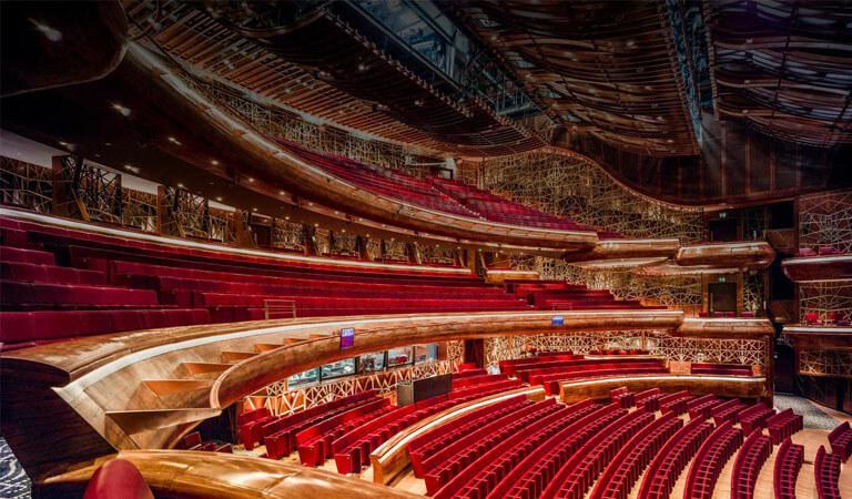 جاهای دیدنی دبی - سالن اپرای دبی ، شاهکار معماری معاصر