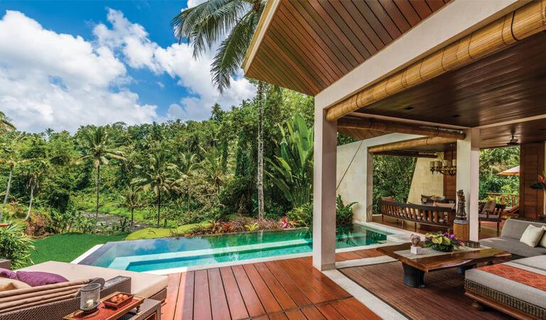 بهترین هتل های جهان - استراحتگاه چهار فصل بالی در سایان
