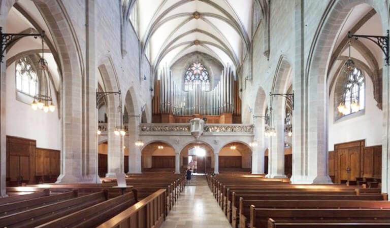 جاهای دیدنی سوئیس - کلیسا فرامانستر