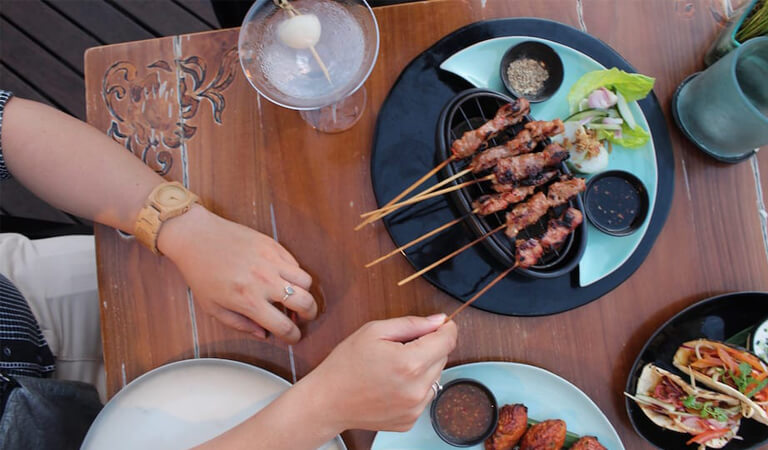 جزیره بالی - به یک سیاحت غذایی لذیذ بروید