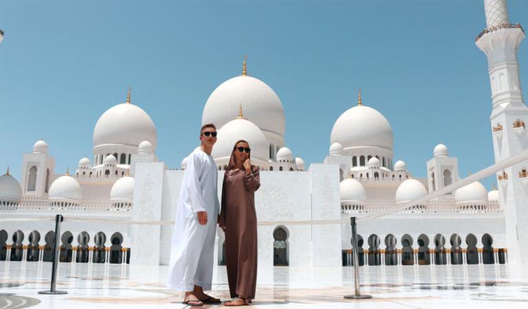 جاهای دیدنی دبی - مسجد جامع، یکی از زیباترین مساجد عربی