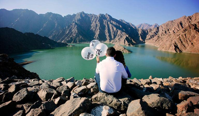 جاهای دیدنی دبی - روستای کوهستانی حتا