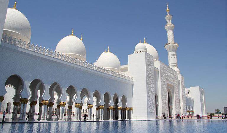 جاهای دیدنی دبی - مسجد جمیرا، مهمترین مسجد دبی