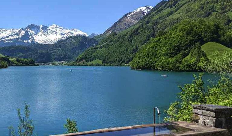 جاهای دیدنی سوئیس - تفرجگاه کنار دریاچه – زیبایی به بهترین شکل