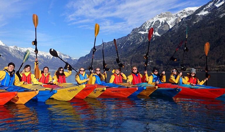 جاهای دیدنی سوئیس - قایق سواری (کایاکینگ) – فقط اسمش کافی است