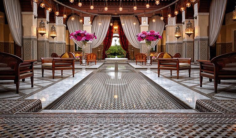 بهترین هتل های جهان - هتل رویال منصور در مراکش
