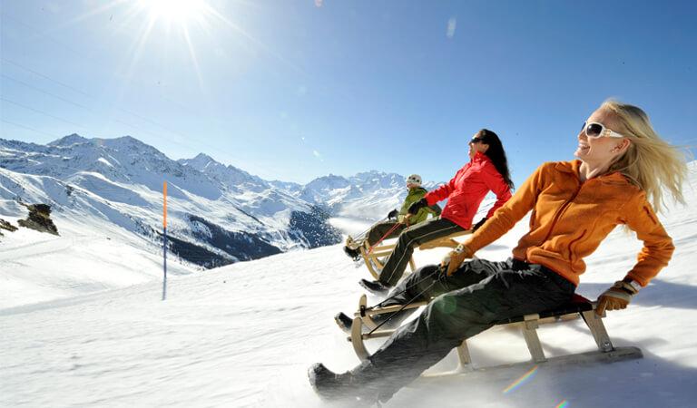 جاهای دیدنی سوئیس - سورتمه سواری – فقط یک تجربه سرگرمکننده