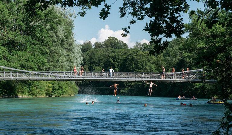 جاهای دیدنی سوئیس - شنا – یک تجربه فراموش نشدنی