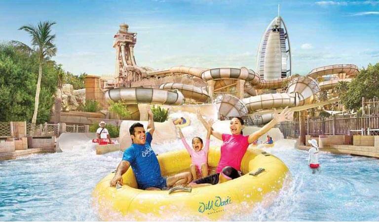 جاهای دیدنی دبی - تفریحات هیجان انگیز در پارک آبی وایلد وادی