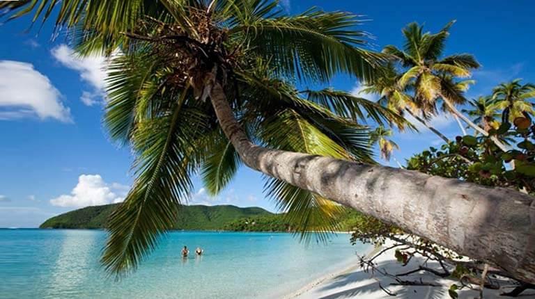 زيباترين سواحل دنيا - ساحل ماهو – سنت جان، جزایر ویرجین ایالات متحده