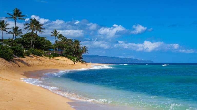 زيباترين سواحل دنيا - ساحل غروب خورشید - اوآهو، هاوایی