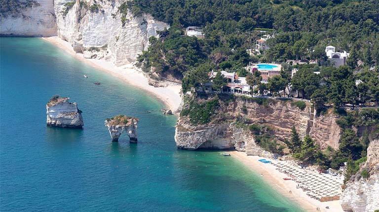 زيباترين سواحل دنيا - Baia delle Zagare – پوگلیا، ایتالیا