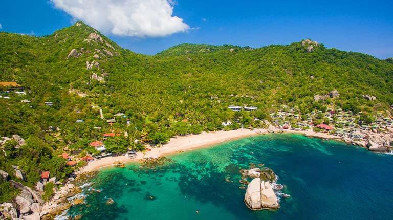 زيباترين سواحل دنيا - خلیج Ao Tanot - کوه تائو، تایلند