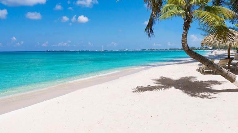 زيباترين سواحل دنيا - ساحل هفت مایلی - جزایر کیمن