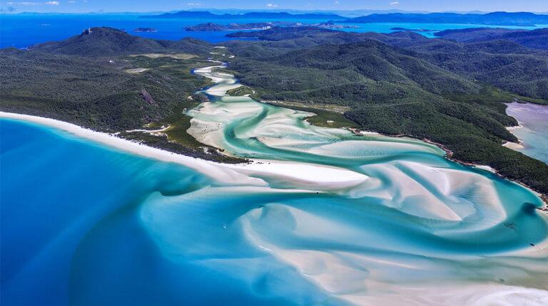 زيباترين سواحل دنيا - ساحل وایتهاون - جزایر ویتسوندای، استرالیا