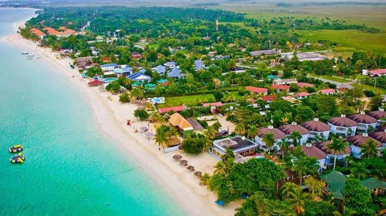 زيباترين سواحل دنيا - نگریل - جامائیکا