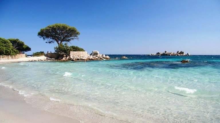 زيباترين سواحل دنيا - ساحل Palombaggia - Porto-Vecchio، جزیره کرس