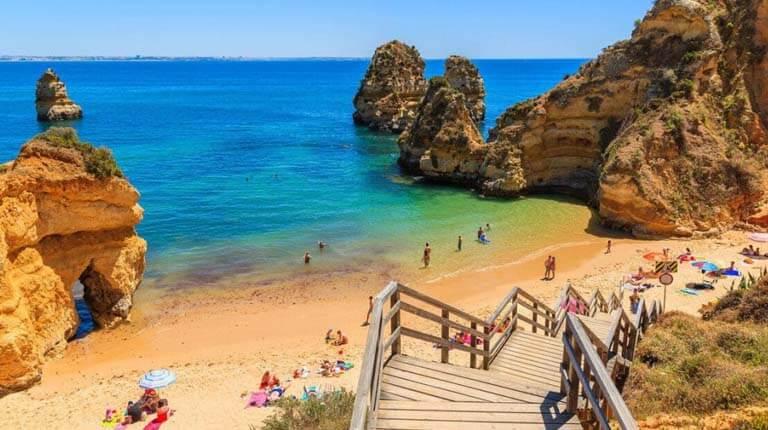 زيباترين سواحل دنيا - ساحل کامیلو - لاگوس، پرتغال