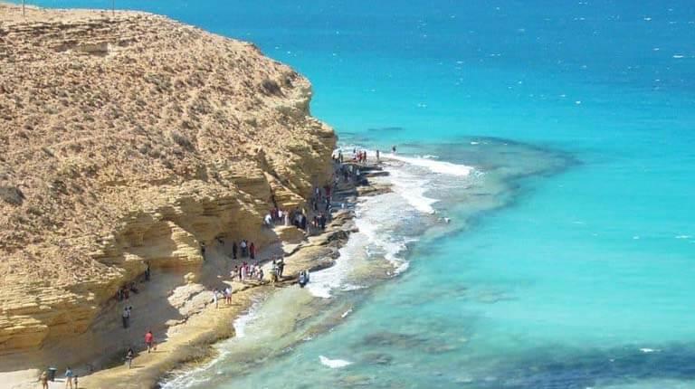 زيباترين سواحل دنيا - ساحل Agiba - مارسا ماتروه، مصر