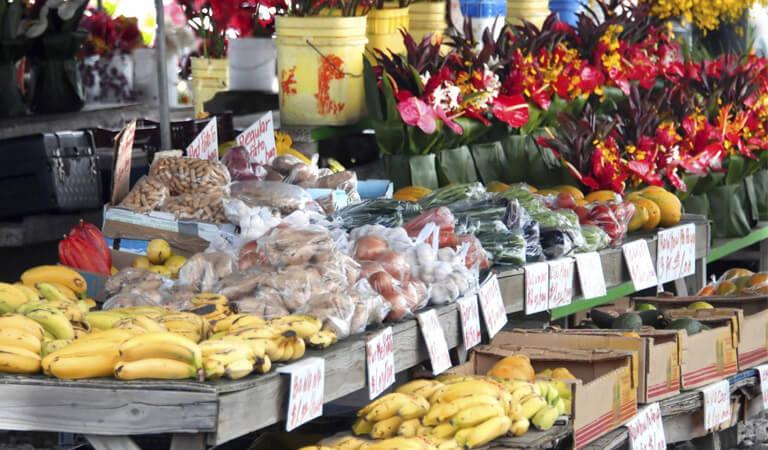 جزایر هاوایی - بازار کشاورزان هیلو