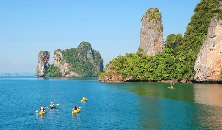 جاهای دیدنی پوکت - خلیج Phang Nga – یک محیط پر احساس